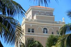 Miami Beach - Sobe. Miami Beach is a coastal resort city in Miami-Dade County, Florida, United States. South Beach (also known as SoBe, or simply the Beach), is Royalty Free Stock Photos