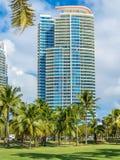 Miami Beach. South Pointe Park at Miami Beach Royalty Free Stock Image