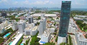 Miami Beach, spiaggia del sud florida U.S.A. archivi video