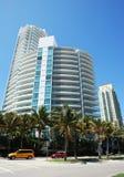 Miami Beach Streets Royalty Free Stock Image