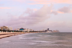 Miami Beach Sunrise Royalty Free Stock Images