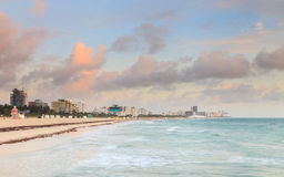 Miami Beach Sunrise Stock Images