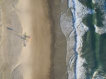 Miami Beach sur la Gold Coast, Queensland, Australie photographie stock