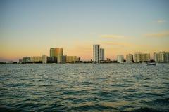 Miami beach tall building Stock Photography