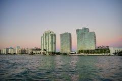 Miami beach tall building Royalty Free Stock Image