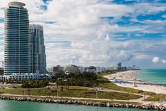 Miami Beach two Royalty Free Stock Image