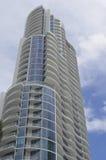 Miami Beach Ultra Modern Condo Tower Stock Photos