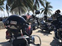 Free Miami Beach, USA - NOV 16 2017: Screw It, Let`s Ride Helmet Sticker On A Harley Davidson Bikers Meeting Day Stock Photo - 165651800