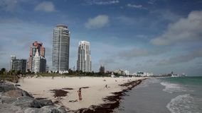 Miami Beach stock video footage
