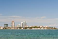 Miami beach waterfront Royalty Free Stock Photo
