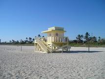 Miami beach in winter Stock Photography