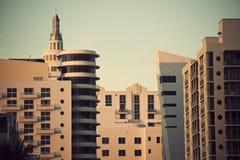 Miami- Beacharchitektur lizenzfreies stockfoto