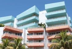 Miami- Beacharchitektur Lizenzfreies Stockbild