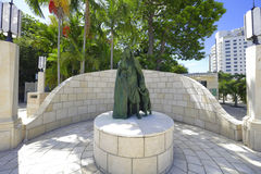 Miami- Beachholocaust-Denkmal Lizenzfreie Stockfotografie