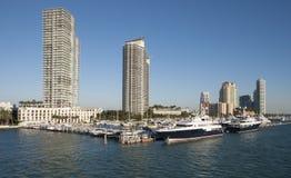 Miami- Beachjachthafen Stockfotografie