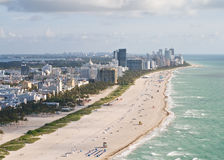 Miami- Beachlandschaft stockbilder