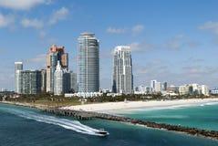 Miami- BeachSkyline stockfoto