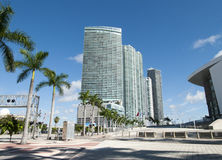 Miami Biscayne Boulevard Stock Images