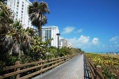 Free Miami Boardwalk Royalty Free Stock Photos - 9617348