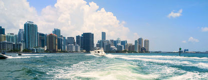 Miami Boating Stock Photography