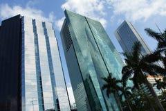 Miami brickell Obrazy Royalty Free