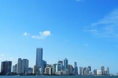 Miami brickell Zdjęcia Royalty Free