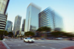 Miami Brickell Avenue Stock Photo
