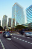 Miami Brickell Avenue. View of Miami Brickell financial district at day time Stock Images