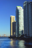 Miami Brickell Avenue Stock Image