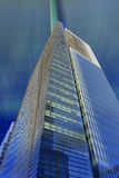 Miami Brickell Avenue. View of Miami Brickell financial district at day time Royalty Free Stock Images