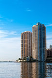 Miami Brickell Key Condo Stock Photography