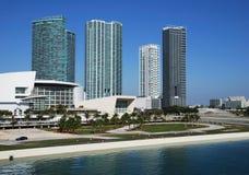 Miami Buildings Royalty Free Stock Image