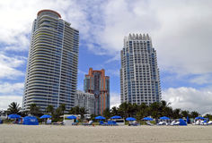 Miami buildings Royalty Free Stock Photography