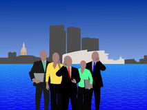 Miami business team Stock Images