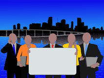 Miami business team Royalty Free Stock Photography