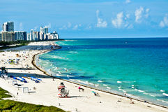 Miami cénico Imagens de Stock Royalty Free