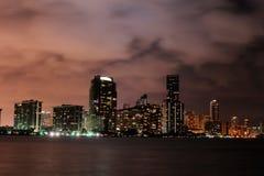 Miami céntrica Fotos de archivo