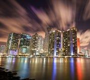 Miami céntrica de la llave de Brickell Imagen de archivo libre de regalías