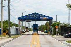 Ingang aan de Sleutels van Florida Stock Foto's