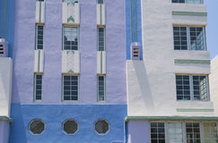 Miami city Art Deco Architectural District, Florida, United States Royalty Free Stock Image