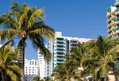 Miami city scenic Stock Photo