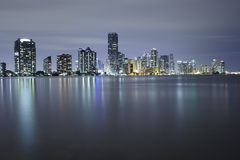 Miami city skyline Royalty Free Stock Image