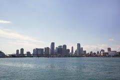 Miami city skyline Stock Photo