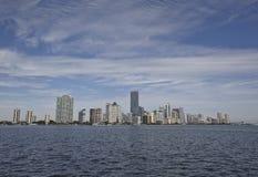 Miami city skyline Stock Photography