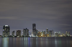 Miami city skyline Royalty Free Stock Photos