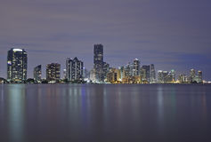 Miami city skyline Royalty Free Stock Photo