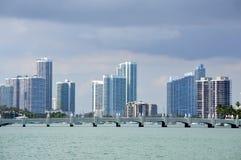 Miami City Skyline Royalty Free Stock Image