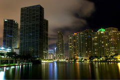 Miami cityscape and skyline Stock Photography