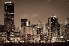 Miami Cityscape Stock Photography