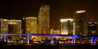 Miami Cityscape Stock Images
